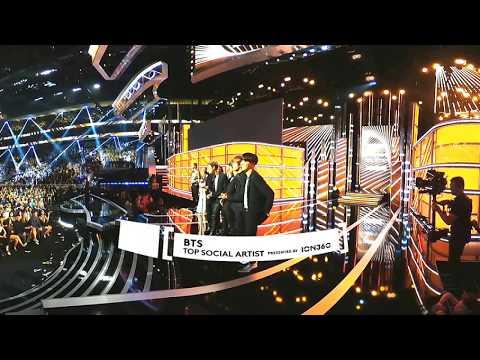 BTS ( 방탄소년단 ) - Billboard Music Awards 2017 Top Social Artist presented by ION360