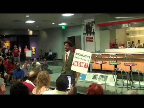 Greensboro Lunch Counter Sit-In Talk (Opening Song)