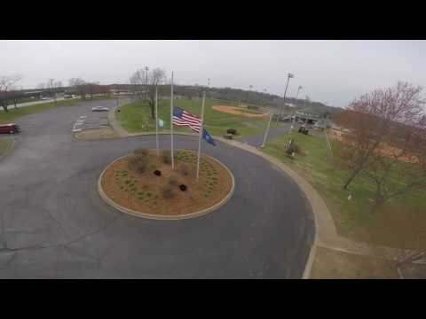 In remembrance of our fallen LMPD officer, Nick Rodman || Half Mast