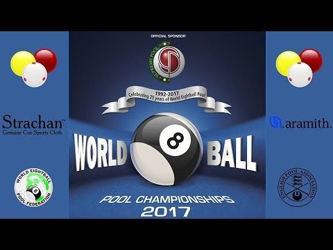 WEPF World 8 Ball Pool Championships 2017 - Men's Semi Final 2