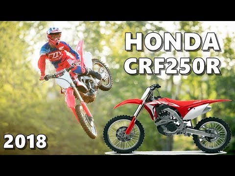 2018 honda 250 crf. wonderful 250 2018 honda crf250r in action review to honda 250 crf