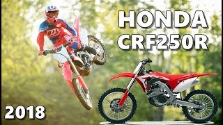 2018 Honda CRF250R in Action (+Review)