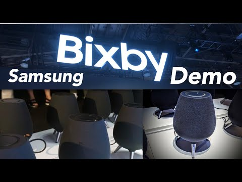 Samsung Galaxy Home Smart Speaker with Bixby: Ces 2019