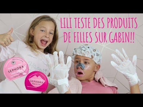 LiLi TESTE DES PRODUITS DE BEAUTÉ POUR FILLES SUR GABIN !!!