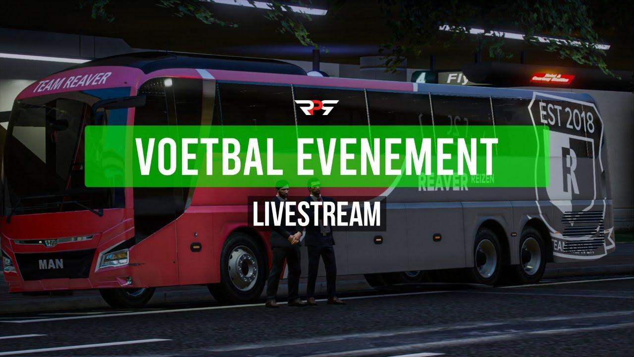 VOETBAL EVENEMENT!  - LIVESTREAM