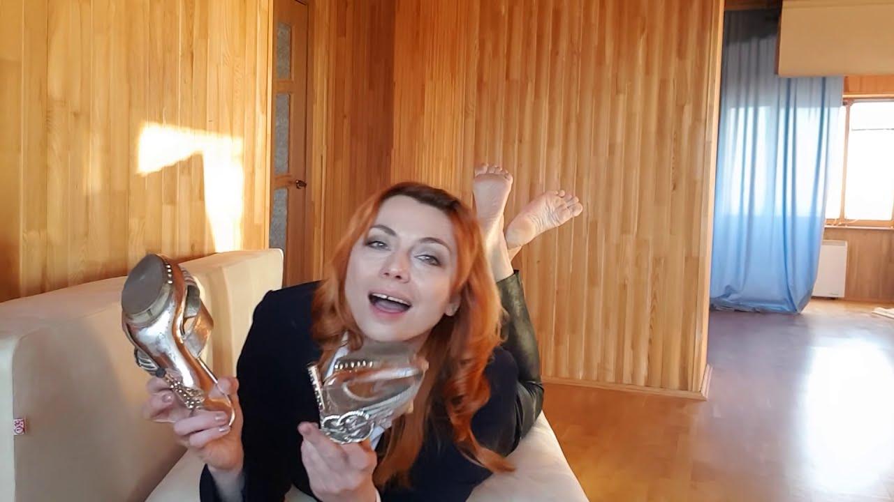 Her foot slaves