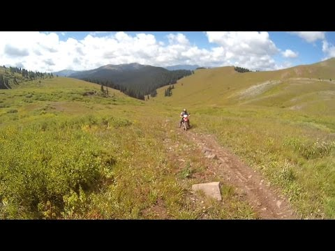 KTMs Crested Butte Day2 -Single Track Hunters Creek To Brush Creek, Grand Traverse MTB