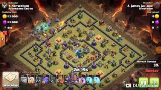 Clash of clan th 12 attacking 2018