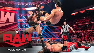 FULL MATCH - Drew McIntyre vs. Randy Orton vs. AJ Styles – Triple Threat Match: Raw, Jan. 13, 2020