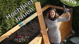 Hochbeet selber bauen - Garten anlegen - DIY Holz Hochbeet - Anleitung vom Bau-It-Yourself Team