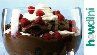 How To Make A Chocolate Trifle: Chocolate Dessert Recipe