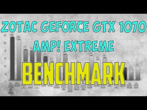 ZOTAC GEFORCE GTX 1070 AMP! EXTREME BENCHMARK / GAME TESTS REVIEW / 1080p, 1440p, 4K