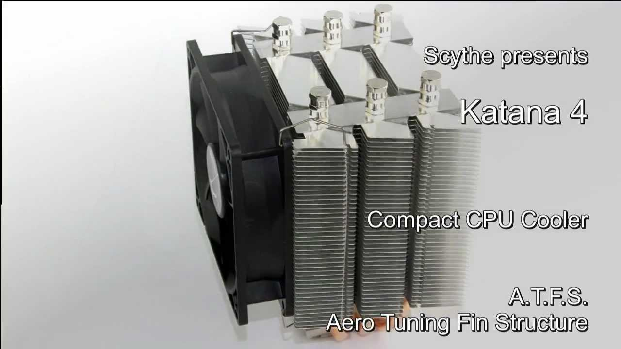 Scythe Katana 4 (SCKTN-4000) CPU Cooler presentation video - YouTube