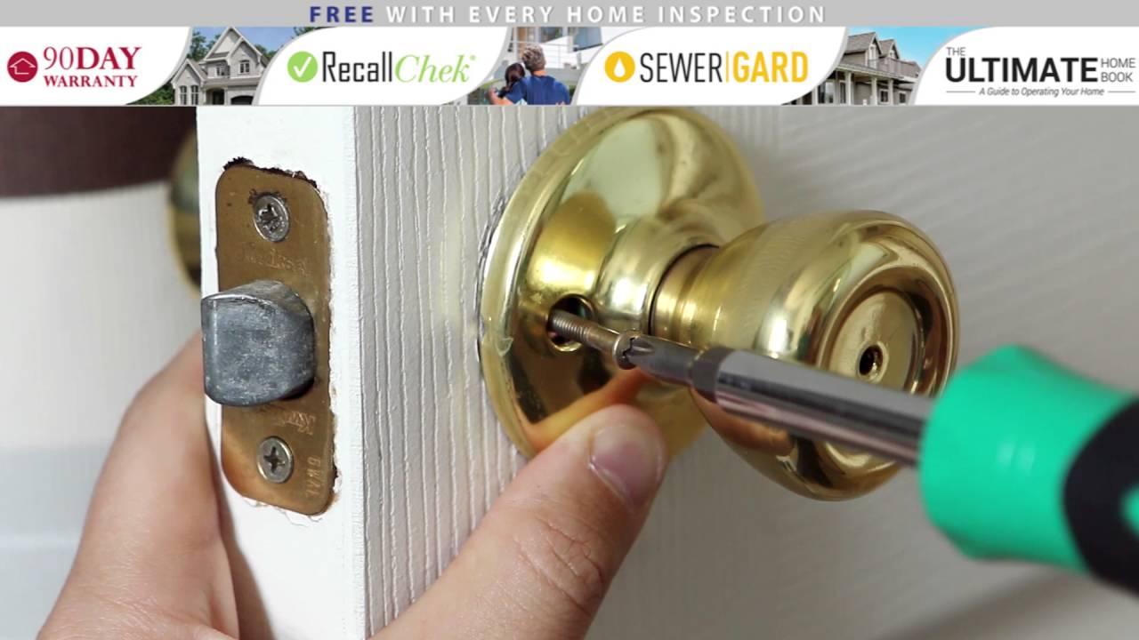 Installing an Interior Door Knob
