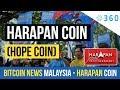 Blockchain Adoption News (Bitcoin News Malaysia) Harapan Coin (Hope Coin)