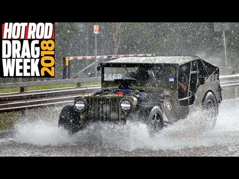 Hurricane Florence INCOMING - Flooded Roads & Race Cars