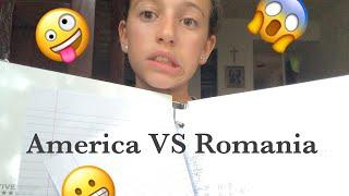 Scoala Românească VS Școala Americană😱💗