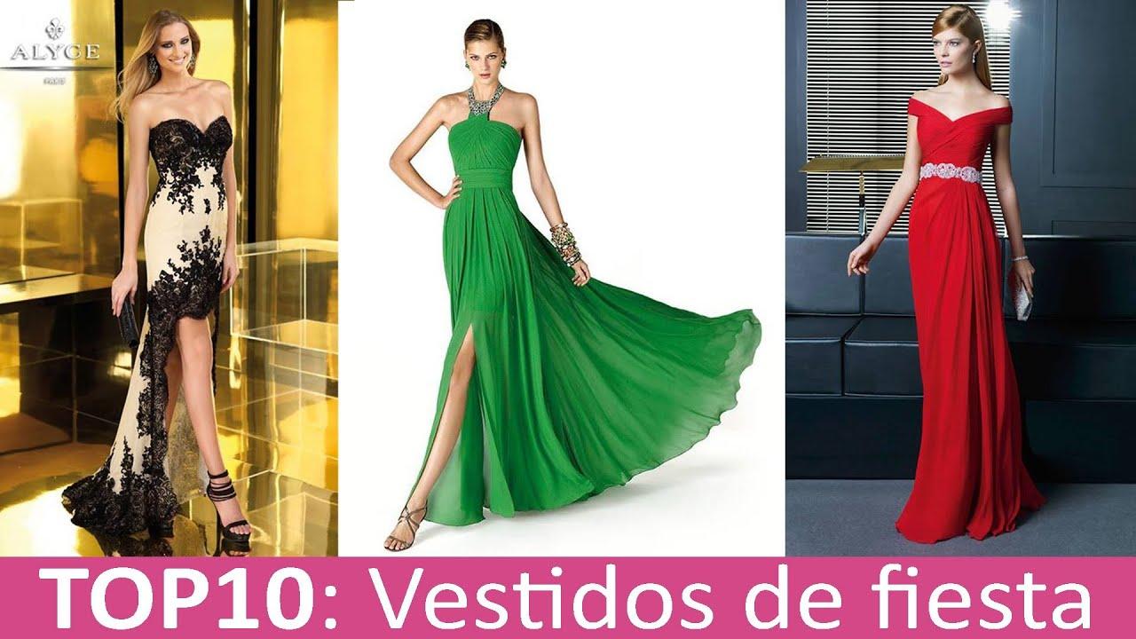 2f54d6209 TOP 10 Mejores Vestidos de Fiesta - YouTube