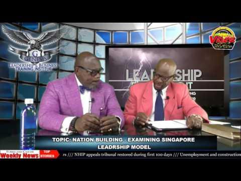 Dr  Bernard Young & Professor Gilbert Morris  Nation Building Examination of Singapore Model of Lead