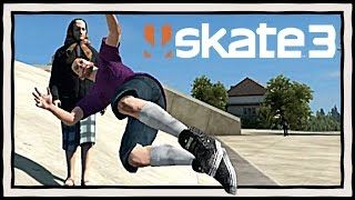ATTACKING OLD LADIES | Skate 3 PS3 Gameplay Funny Moments