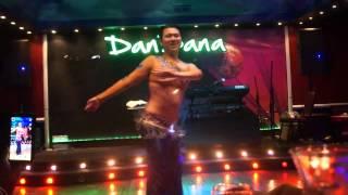 """""""Bosy Ah Ya Donia"""" Shaaby by Male Belly Dancer Allen Wang"""