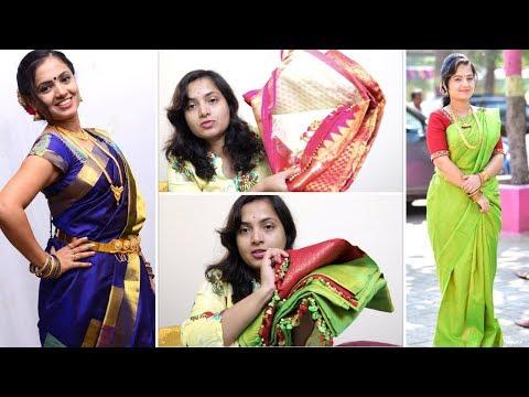 ಸಿಲ್ಕ್ ಸೀರೆ & ಬ್ಲೌಸ್ ಕಲೆಕ್ಷನ್ಸ್ | Silk Sarees & Blouse Designs Collection With Storage & Organiser