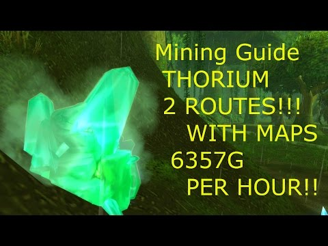WoW Gold Guide, Mining -Thorium Guide