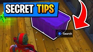Fortnite Battle Royale : 5 SECRET 20V20 Tips And Tricks For Console (PS4/XboxOne/PC)
