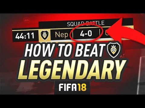 HOW TO BEAT LEGENDARY SQUAD BATTLES! - FIFA 18 Ultimate Team