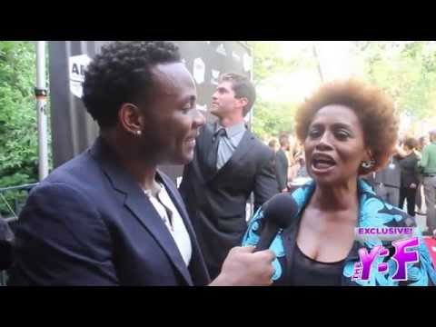 """James Terrell on the NYC Red Carpet Premier of 2015 movie """"Dope"""""""