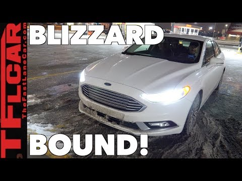 Ford Fusion Rent-A-Car Road Trip Review: 1000 Miles with 4 Big Dudes In a Mid-Sized Sedan!