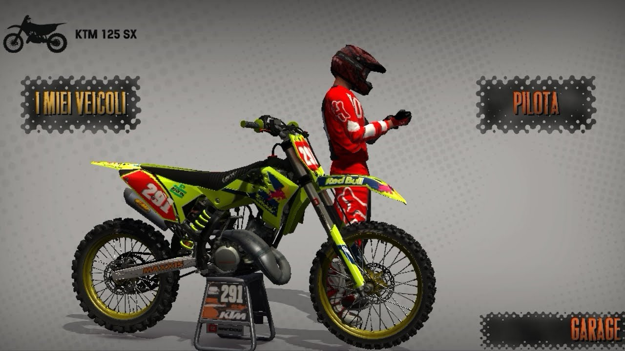 Mx Vs Atv Reflex MOD | KTM 125 Limited Edition Fluo 2017 | Glen Helen Track  MOD