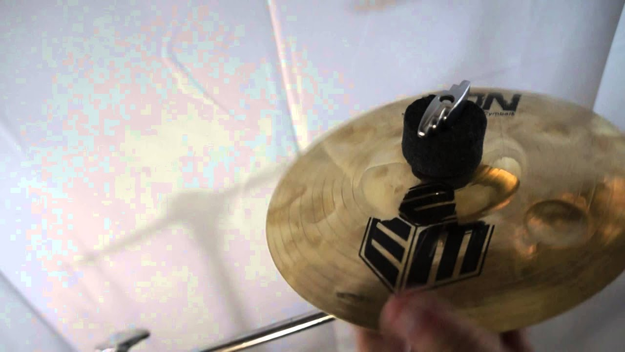 zion cymbals eric moore signature splash cymbal 8 youtube. Black Bedroom Furniture Sets. Home Design Ideas