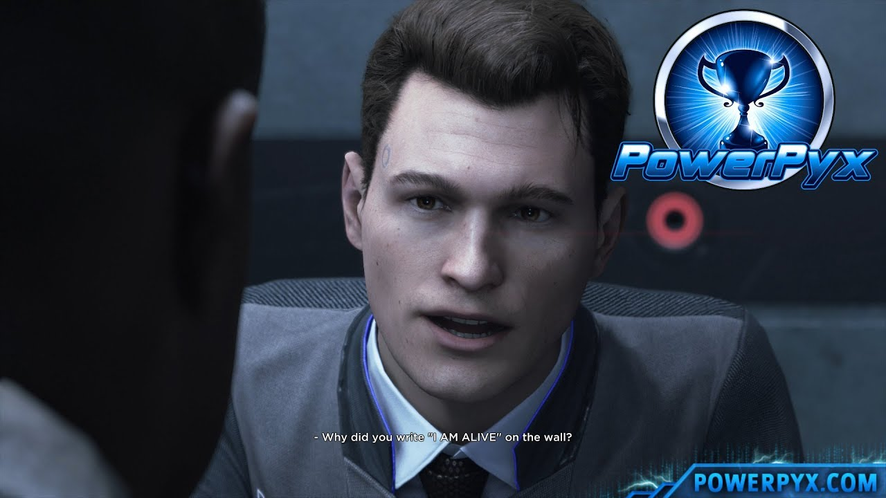 Detroit Become Human - CONFESSION Trophy Guide (Connor Makes Android Confess) - YouTube