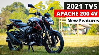 TVS Apache RTR 200 4V BS6 | Riding Modes | New Features