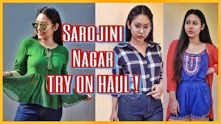 SAROJINI NAGAR TRY ON HAUL | Best Summer Haul 2017 | ThatQuirkyMiss