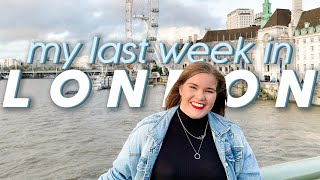my last week in london, england   packing, working & my family arrives