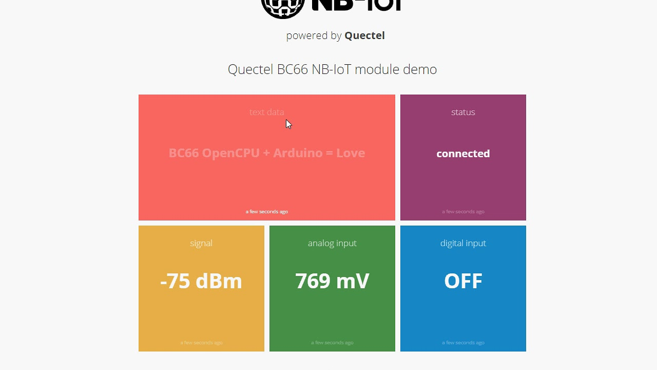 Arduino Support for Quectel BC66 NB-IoT Module