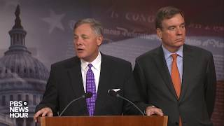WATCH: Sens. Burr, Warner hold news briefing to update Russia investigation