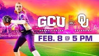 GCU Softball Vs. Oklahoma Feb 8 2019
