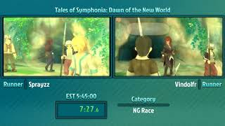 Tales of Marathon 2018: Symphonia: Dawn of the New World NG Race by Sprayzz and Vindolfr