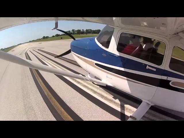 Frank Linero pilot Cessna 182 N2182F GoPro 070312