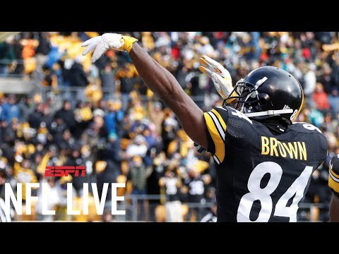Antonio Brown looking for new TD celebrations | NFL Live | ESPN