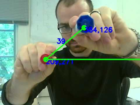 measuring angles in opencv