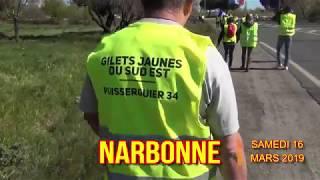 GILETS JAUNES NARBONNE 16 MARS 2019
