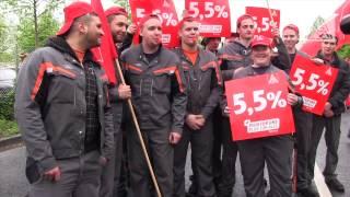 Tarifrunde Metall & Elektro 2013: Warnstreik bei Ford Köln