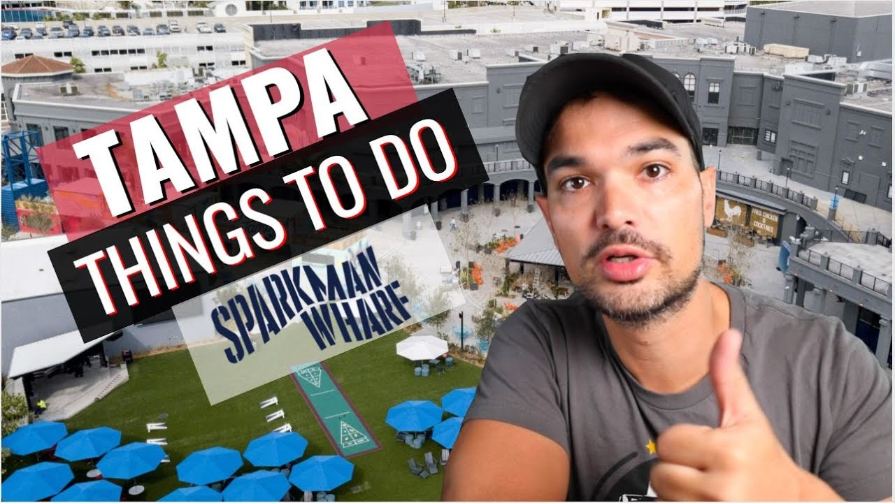 Things To Do in Tampa - Sparkman Wharf