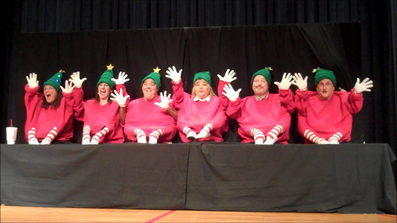 Little People Christmas Skit 2013 Arkansas School for the Deaf ...
