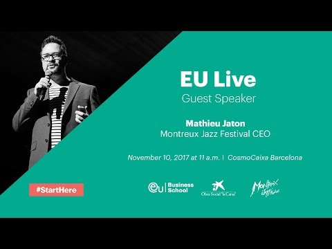 EU Live: Matheiu Jaton, CEO of the Montreux Jazz Festival (Part 1)