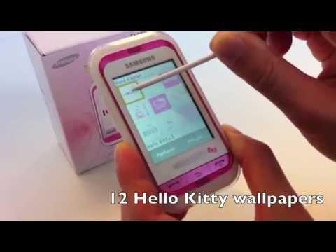 Детский телефон Hello Kitty Samsung С3300